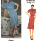 Vogue Sewing Pattern 2711 Misses Size 10 Diane Von Furstenberg American Designer Pullover Dress