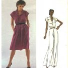 Vogue Sewing Pattern 2456 Misses Size 10 Diane Von Furstenberg American Designer Long Short Dress