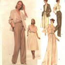 Vogue Sewing Pattern 1883 Misses Size 10 Anne Klein American Designer Skirt Blouse Pants Jacket