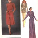 Vogue Sewing Pattern 2700 Misses Size 10 Renata International Designer Formal Long Dress Tunic