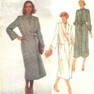 Vogue Sewing Pattern 2046 Misses Size 10 Christian Dior Paris Original Coat Shirtwaist Dress