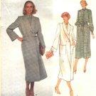 Vogue Sewing Pattern 2046 Misses Size 10 Christian Dior Paris Original Coat Shirtwaist Dress