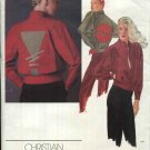 Vogue Sewing Pattern 2664 Misses Size 10 Christian Aujard Designer Original Baseball Jacket