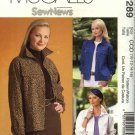 McCall's Sewing Pattern P289 4385 Misses Size 10-16 Machine Embroidered Blue Jean Jacket