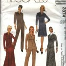 McCall's Sewing Pattern 2874 Misses Size 10-14 Classic Jacket Pants Long Short A-Line Skirt Suit