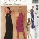 McCall's Sewing Pattern 3058 Misses Size 12-18 Evening Formal Prom Long Short Halter Knit Dress