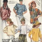 McCall's Sewing Pattern 3088 Misses Size 6-8 Basic Knit Pullover Long Short Sleeve Tops