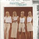 McCall's Sewing Pattern 3529 M3529 Misses Size 8-12 Perfect Fit Pants Shorts Skirt