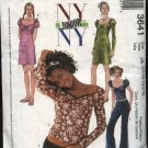 McCall's Sewing Pattern 3641 Junior size 11/12-17/18 NYNY Wardrobe Dress Tops Pants
