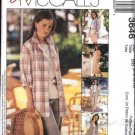 McCall's Sewing Pattern 3646 M3646 Miss Size 8-14 Easy Wardrobe Dress Top Pants Shirt Jacket Shorts