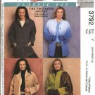 McCall's Sewing Pattern 3792 Misses Size 16-22 Palmer/Pletsch Classic Unlined Fleece Jacket