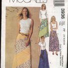 McCall's Sewing Pattern 3936 Misses Size 8-14 A-Line Bias Seamed Long Skirts