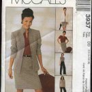 McCall's Sewing Pattern 3937 Misses Size 12-18 Wardrobe Lined Jacket Pullover Top Skirt Pants