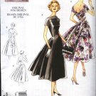 Vogue Sewing Pattern 1084 Misses Size 6-12 Vintage Style 1956 Original Design Semi-Formal Dress
