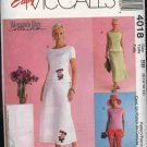 McCall's Sewing Pattern 4018 Misses Size 16-22 Woman's Day Collection Easy Skirt Top Pants