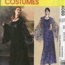 McCall's Sewing Pattern 4089 Misses Size 6-12 Gothic Long Gown Dress Vest Costume