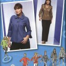 Simplicity Sewing Pattern 2899 Womans Plus Size 18W-24W Short Jacket Collar Sleeve Variations