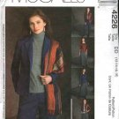McCall's Sewing Pattern 4226 Misses Size 6-12 Wardrobe Lined Jacket Bias Skirt Pants Knit Top