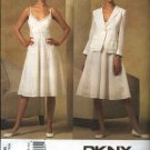 Vogue Sewing Pattern 2966 Misses Size 14-20 DKNY Donna Karan Summer Dress Jacket Sundress