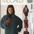 McCall's Sewing Pattern 9585 Misses Size 4-14 Lined Zipper Front Fleece Wool Denim Jacket