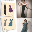 Simplicity Sewing Pattern 2549 Misses Size 6-14 Formal Day Long Short Empire Waist Dresses