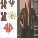 Simplicity Sewing Pattern 2560 Misses Size 8-16 Knit Cardigans Jackets Shrug Bolero