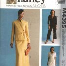 McCall's Sewing Pattern 4395 Misses Size 8-22 Wardrobe Front Wrap Tops Skirts Cropped Pants