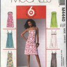 McCall&#39;s Sewing Pattern 4440 Misses Size 8-14 Easy Empire Raised Waist A-Line Long Short  Dresses