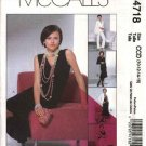 McCall's Sewing Pattern 4718 Misses Size 6-12 Wardrobe Lined Jacket Skirt Pants Top