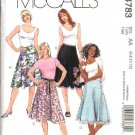 McCall's Sewing Pattern 4783 Misses Size 6-12 Yoke Flared Skirts
