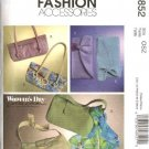 McCall's Sewing Pattern 4852 Six Lined Handbags Bags Clutch Purse Scarf