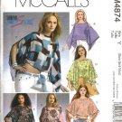 McCall's Sewing Pattern 4874 Misses Size 4-14 Loose-Fitting Poncho Summer Tops