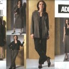 Vogue Sewing Pattern 2875 Misses Size 6-8-10 ADRI Wardrobe Jackets Top Skirt Pants