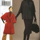Vogue Sewing Pattern 8605 Misses Size 8-14 Easy Button Front Jacket Straight Skirt Pants Suit