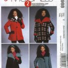 McCall's Sewing Pattern 5988 Misses Size 16-22 Easy 2-Hour Reversible Button Front Long Short Coat
