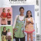 McCall's Sewing Pattern 5997 Misses Children's Full Half Fancy Aprons Pants