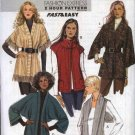 Butterick Sewing Pattern 5394 Misses Size 4-14 Easy 2-Hour Lightweight Cardigan Jacket Wrap