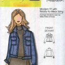 Butterick Sewing Pattern 5402 Misses Sizes 3-16 Connie Crawford Classic Blue Jean Jacket