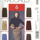 McCall's Sewing Pattern 4925 Misses Size 12-18 Easy Fitted Straight Skirts