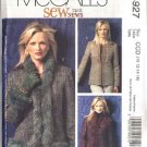 McCall's Sewing Pattern 4927 Misses Size 10-16 Sew News Lined Princess Seam Fitted Jackets