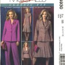 McCall's Sewing Pattern 4930 Misses Size 16-22 Palmer/Pletsch Jacket Dress Pants Suit Pantsuit