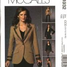 McCall's Sewing Pattern 4932 Misses Size 8-14 Wardrobe Lined Jacket Skirt Pants Top Suit