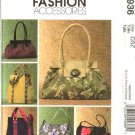 McCall's Sewing Pattern 4936 Six Lined Handbags  Pocketbooks Purses Bags Totebag