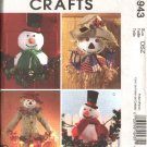 McCall's Sewing Pattern 4943 Christmas Halloween Autumn Fall Door Lawn Decorations