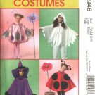 McCall's Sewing Pattern 4946 Girls Size 3-8 Easy Halloween Costumes Ladybug Witch Butterfly Flower