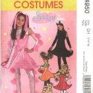 McCall's Sewing Pattern 4950 Girls Size 12-16 Halloween Costumes Cat Pumpkin Strawberry Sci-Fi