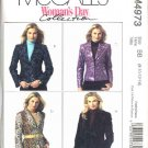 McCall's Sewing Pattern 4973 Misses Size 6-12 Woman's Day Lined Long Sleeved Jackets