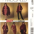 McCall&#39;s Sewing Pattern 4977 Misses Size 16-22 Easy Knit  Wardrobe Cape Jacket Skirt Pants Top
