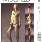 McCall&#39;s Sewing Pattern 5063 Misses Size 6-12 Wardrobe Lined Jacket Top Skirt Cropped Long Pants