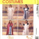 McCall's Sewing Pattern 7766 Girls Size 2 Costume Swan Princess™ Dresses Cape